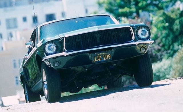 Mustang GT Fastback 1968 do filme Bullit