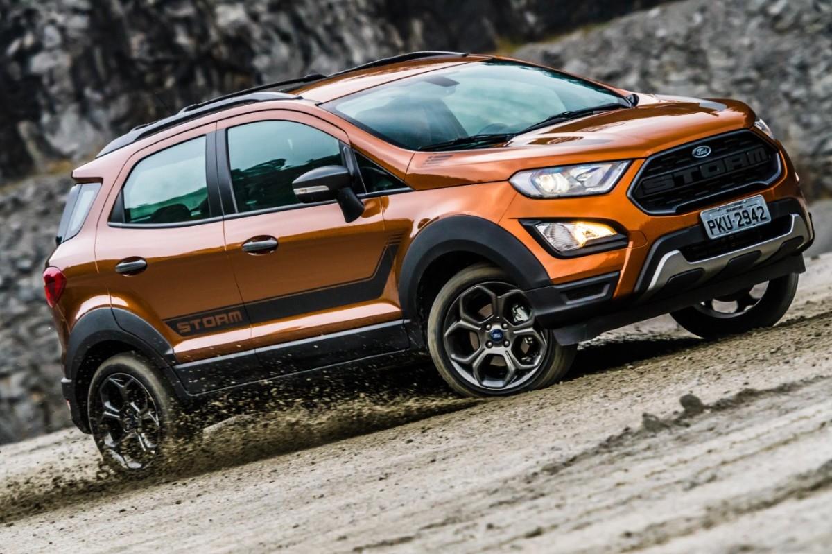 Ford lança EcoSport Storm 4WD por R$99.990