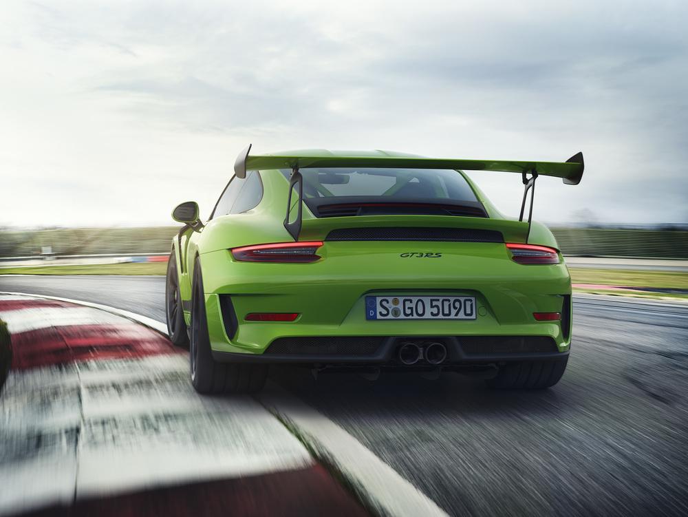 Novo Porsche 911 GT3RS