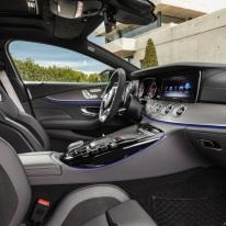 Mercedes-AMG GT 53 4MATIC+ 4-Türer Coupé, AMG Night-Paket, Interieur: Leder Nappa Exklusiv magmagrau/schwarz, Zierteil: AMG Zierelemente Carbon matt;Kraftstoffverbrauch kombiniert: 9,1 l/100 km; CO2-Emissionen kombiniert: 209 g/km* (vorläufige Daten) Mercedes-AMG GT 53 4MATIC+ 4-Door Coupé, AMG Night-packet, Interior: Leather nappa exclusive magma grey / black, Body trim: AMG body trim carbon matt;Fuel consumption combined: 9.1 l/100 km; combined CO2 emissions: 209 g/km* (provisional data)