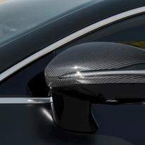 Mercedes-AMG GT 63 S 4MATIC+ 4-Türer Coupé, AMG Carbon-Paket, Exterieur: Außenspiegel, Außenfarbe: Graphitgrau magno;Kraftstoffverbrauch kombiniert: 11,2 l/100 km; CO2-Emissionen kombiniert: 256 g/km* (vorläufige Daten) Mercedes-AMG GT 63 S 4MATIC+ 4-Door Coupé, AMG Carbon-packet, Exterior: Exterior mirror, Detail, Exterior paint: graphite grey magno, colour variation black;Fuel consumption combined: 11,2 l/100 km; CO2 emissions combined: 256 g/km* (provisional data)