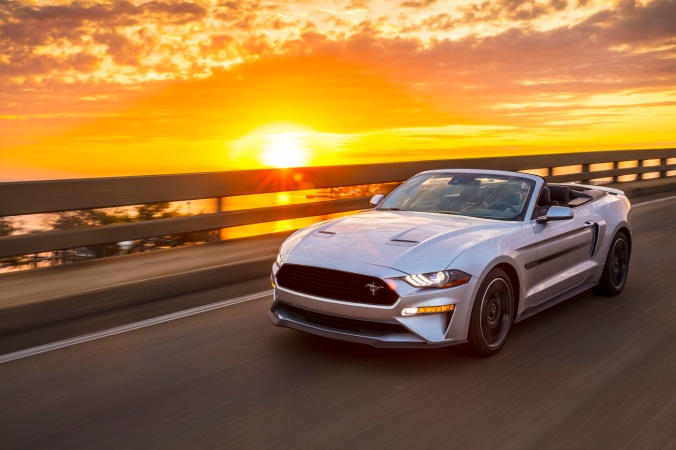California Special returns with a new limited-edition design package for 2019 Mustang GT that commemorates visual cues of the 1968 original while celebrating modern Mustang performance and style