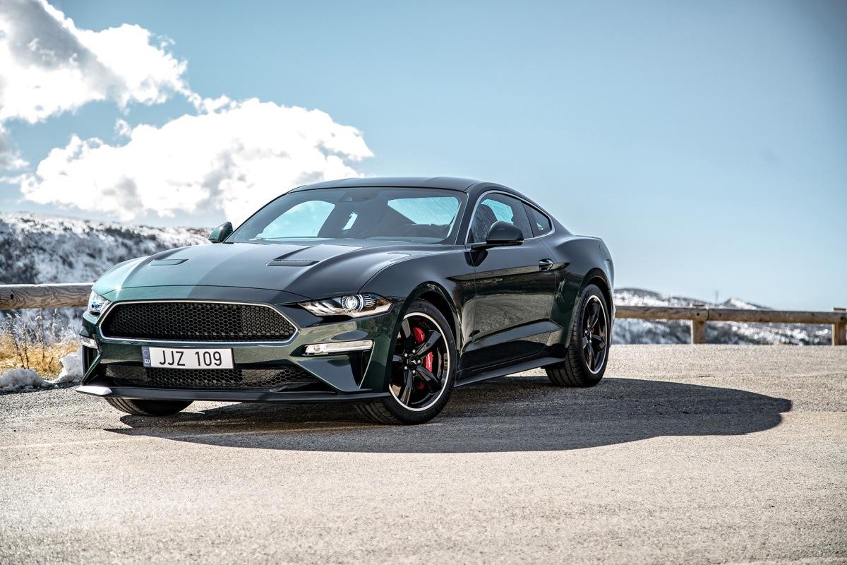 Salão de Genebra: Ford apresenta o Mustang Bullitt e o EdgeST-Line