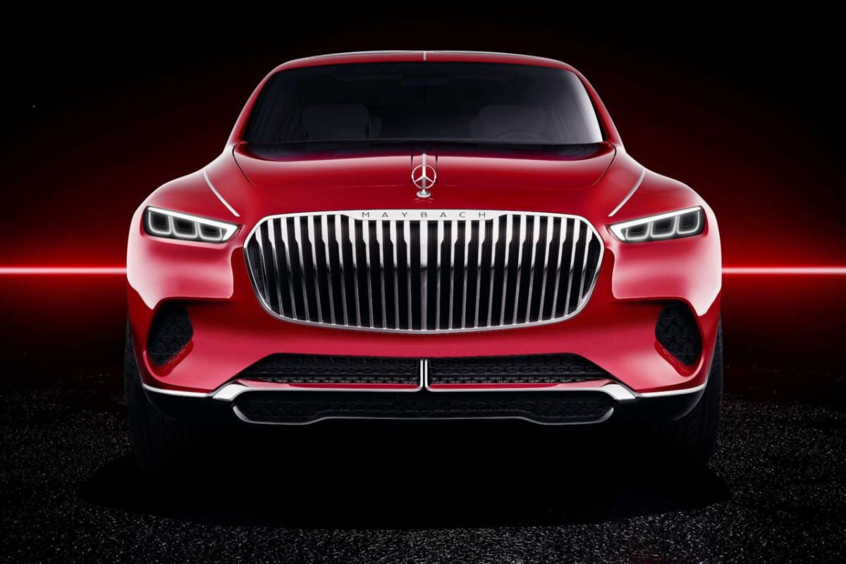 Mercedes-Maybach Vision Ultimate Luxuryconcept