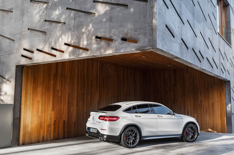 Mercedes-AMG GLC 63 S 4MATIC+ Coupé; (C253), 2017