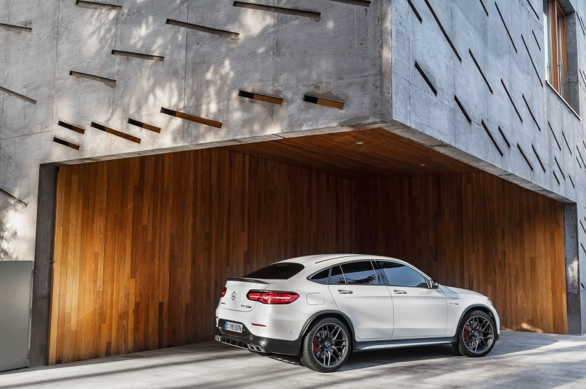Mercedes-AMG GLC 63 S 4MATIC+ Coupé; (C253), 2017
