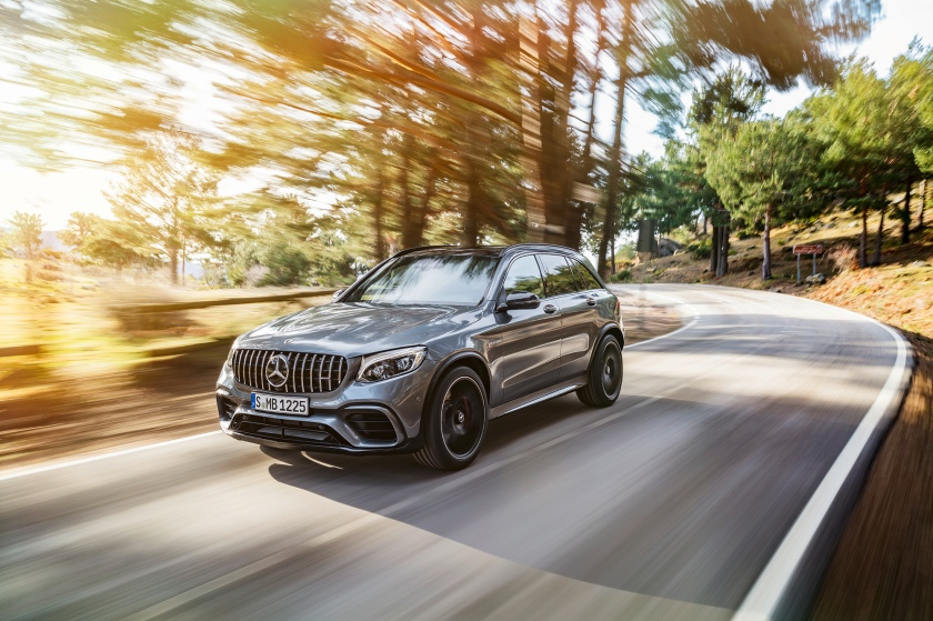 Mercedes-AMG GLC 63 S 4MATIC+; (X253), 2017