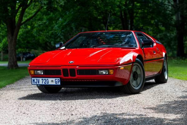 BMW M1: 40 anos de umícone