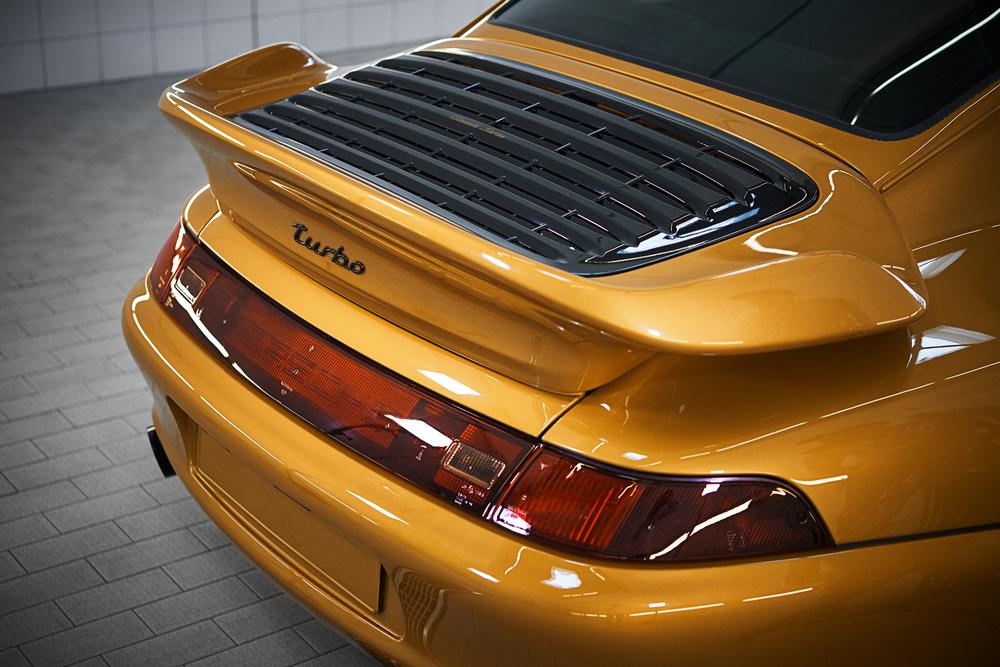 Porsche Classic constrói um 911 clássico com peçasgenuínas