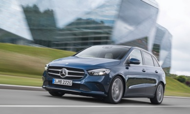Mercedes-Benz B-Klasse, denimblau Mercedes-Benz B-Class, denim blue