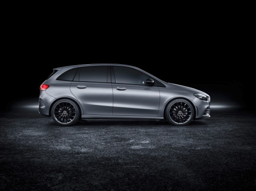 Mercedes-Benz B-Klasse, designo mountaingrau magno, AMG Styling Mercedes-Benz B-Class, designo mountain grey magno, AMG styling