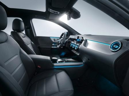Mercedes-Benz B-Klasse, Leder alpakagrau/schwarz, AMG Styling Mercedes-Benz B-Class, Leather alpaca/black, AMG styling