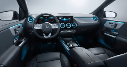 Mercedes-Benz B-Klasse, Leder alpakagrau/schwarz, AMG Styling Mercedes-Benz B-Class, Leather alpaca/black, AMG styling