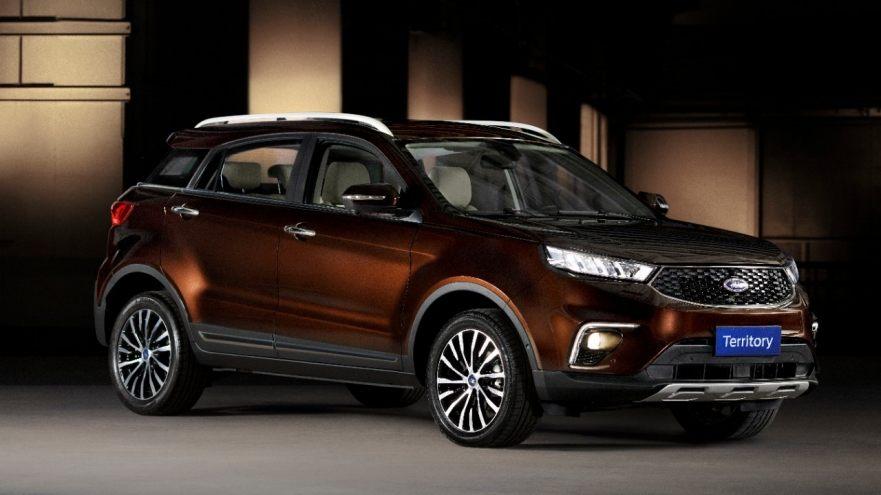 Salão de SP: FORD apresenta novos Edge ST, EcoSport sem estepe, o SUV médio Territory e o Fusion HybridPlug-in