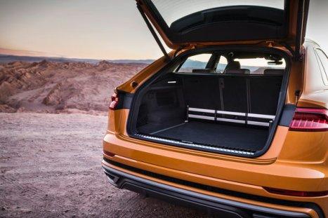 Luggage compartment, Colour: Dragon orange