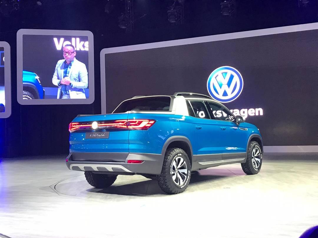 Salão de SP: VW apresenta novos T-Cross e a picapeTarok