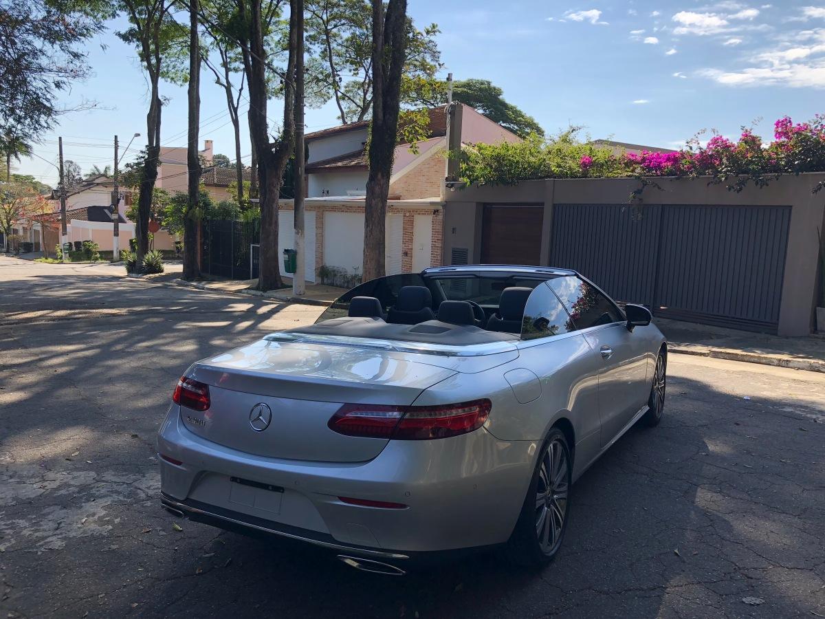 Mercedes E300 Cabrio2019