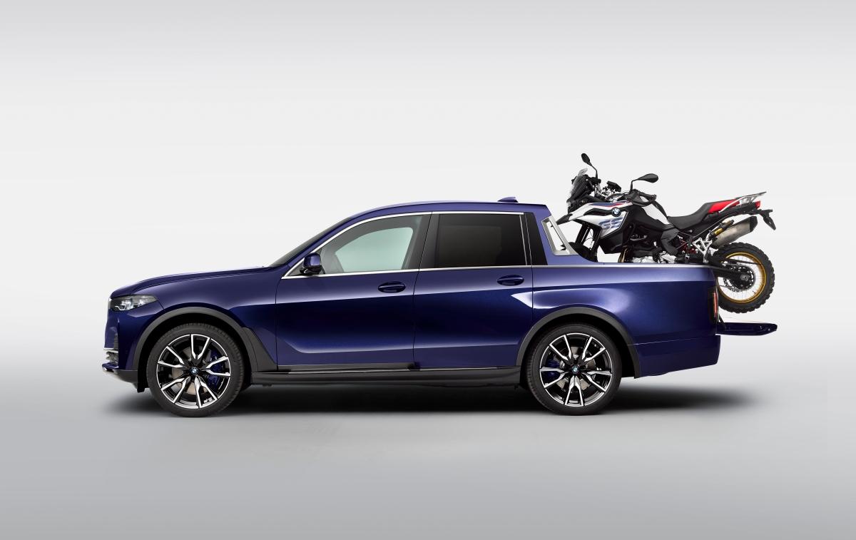 BMW mostra conceito do X7Pick-up