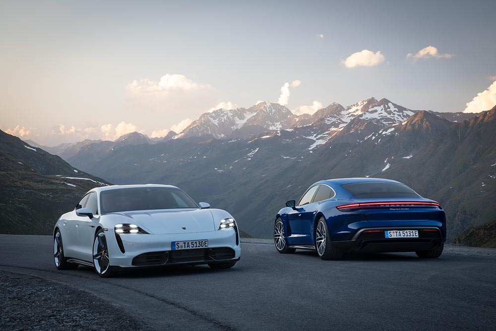 Novo Porsche Taycan: O elétricoesportivo
